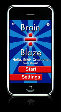 Brain blaze Divide screenshot